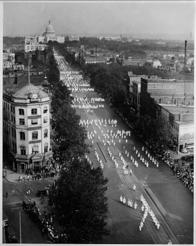 klan march 1926