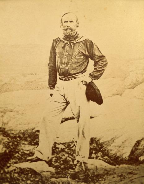Giuseppe Garibaldi on Caprera