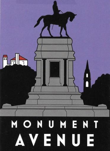 Lee statue on Monument (2)